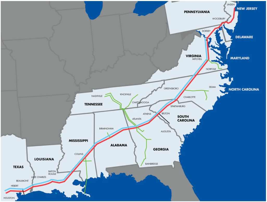 Cyber attack shuts down top U.S. fuel pipeline network thumbnail